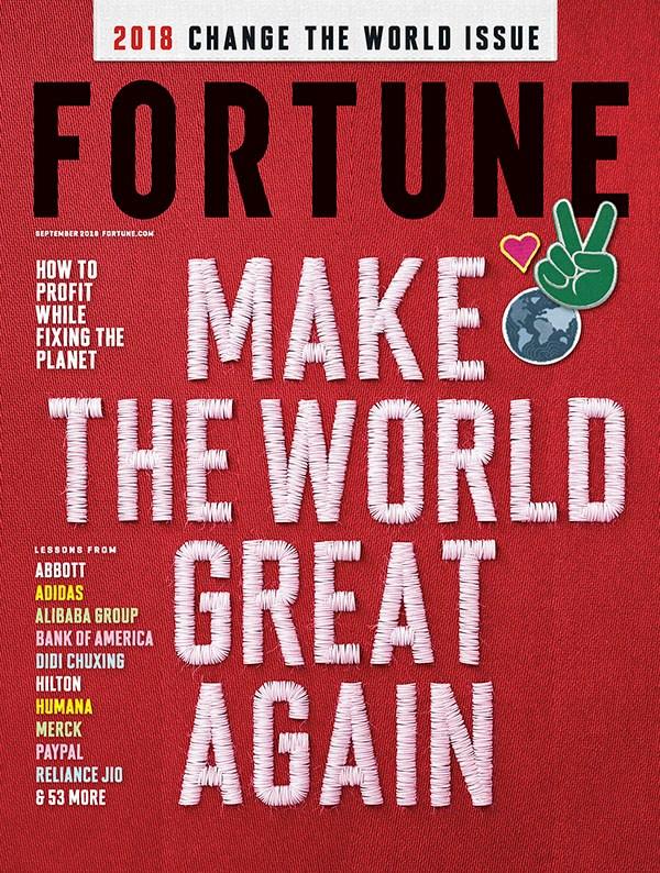 """Fortune: ABB tra le prime 10 aziende """"Change the World"""""""