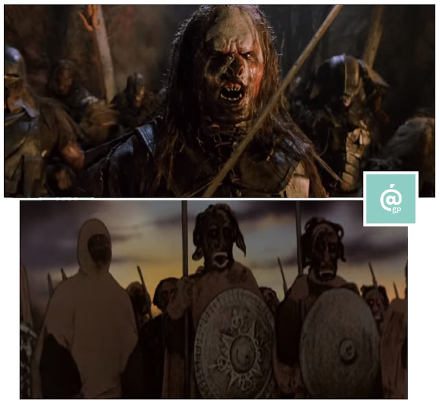 Uruk-Hai - El Señor de los Anillos: Peter Jackson Vs Ralph Bakshi - JRRTolkien - ÁlvaroGP - el fancine - el troblogdita