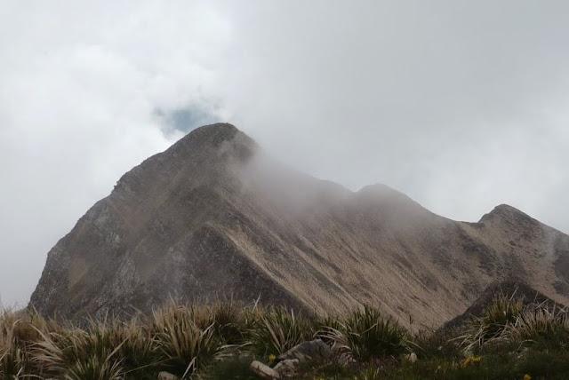 Monte Spallone visto dal Sagro