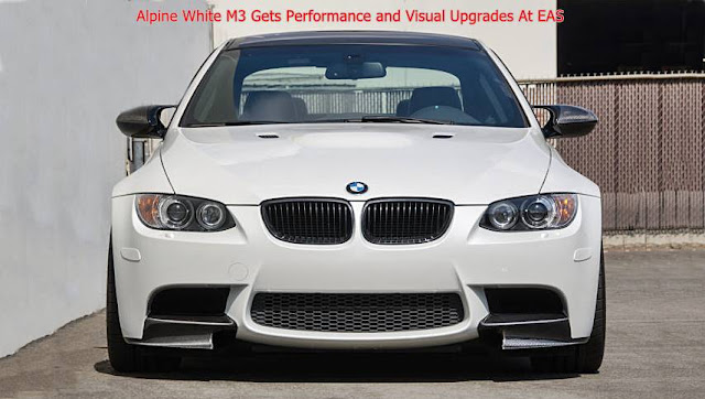 Alpine White M3 Gets Performance and Visual Upgrades At EAS