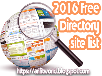 High PR Dofollow Directory Submission Sites List 2016