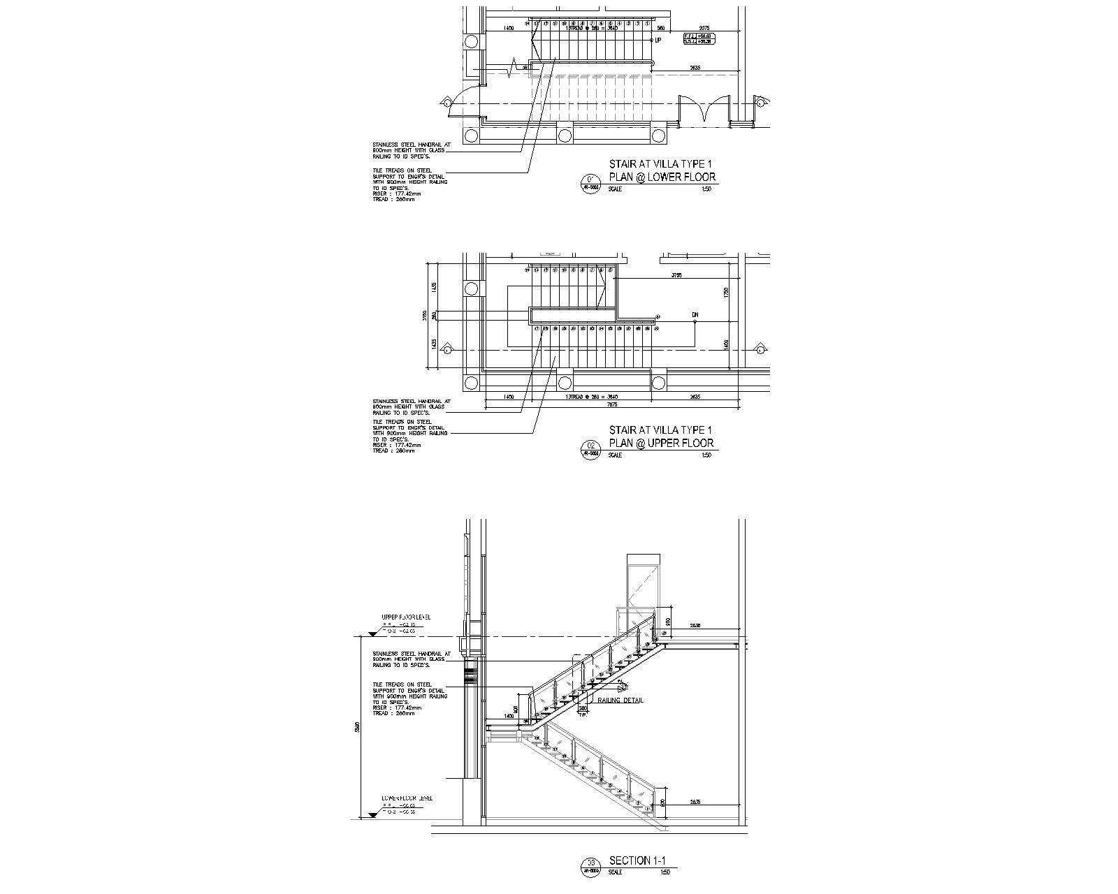 Phil. Arch. Review: STEEL STAIR DETAIL