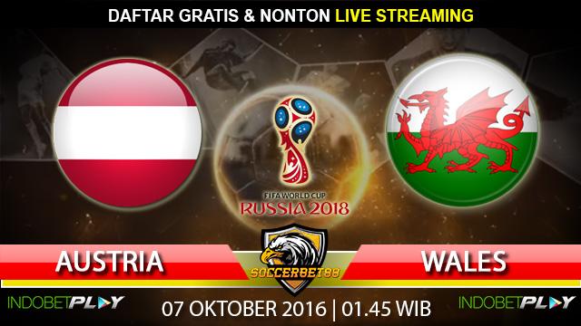 Prediksi Austria vs Wales 07 Oktober 2016 (Piala Dunia 2018)