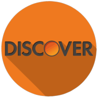 discover colorful button