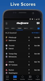 theScore: Live Sports News, Scores, Stats & Videos v19.5.0 [Mod] APK