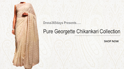 Pure Georgette Chikankari Collection