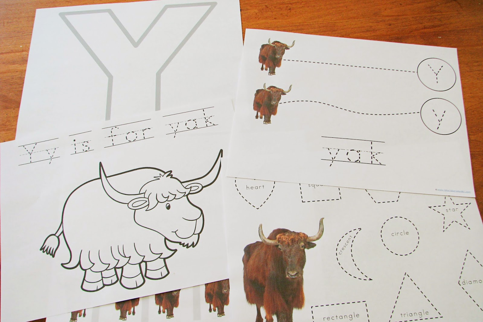 Mommy S Little Helper Y Yak Preschool Theme
