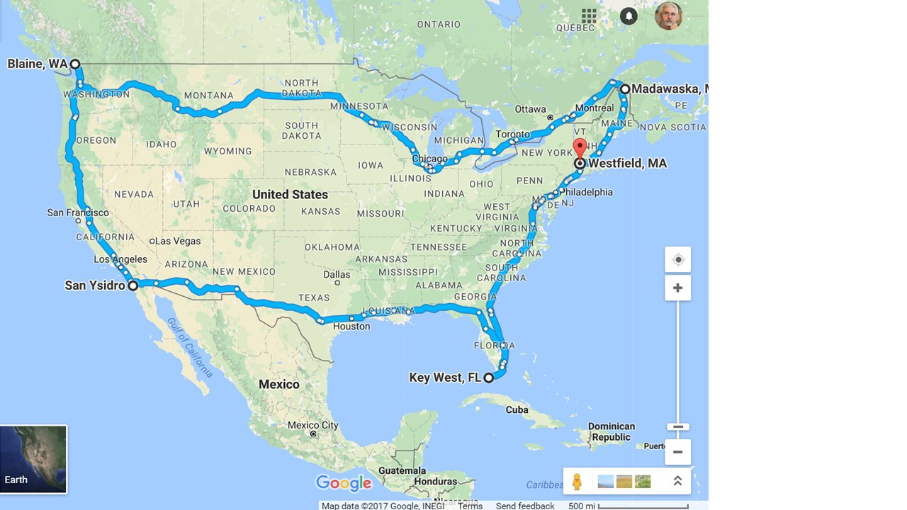 trip in about 70 days while riding on the comfortable seats of our pickup truck if youre not familiar with massachusetts westfield is the home of