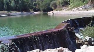piscina natural azud assut matarraña