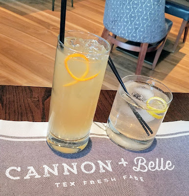 Cannon and Belle cocktails