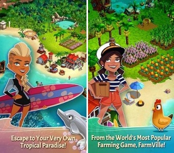 FarmVille Tropic Escape MOD APK Unlimited Money