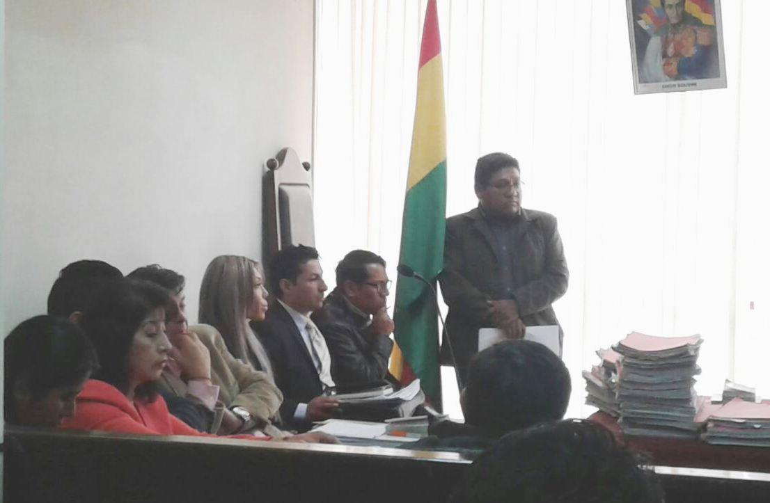 Zapata deberá volver a la sala penal segunda el 14 de marzo para su apelación / ÁNGEL FERNÁNDEZ