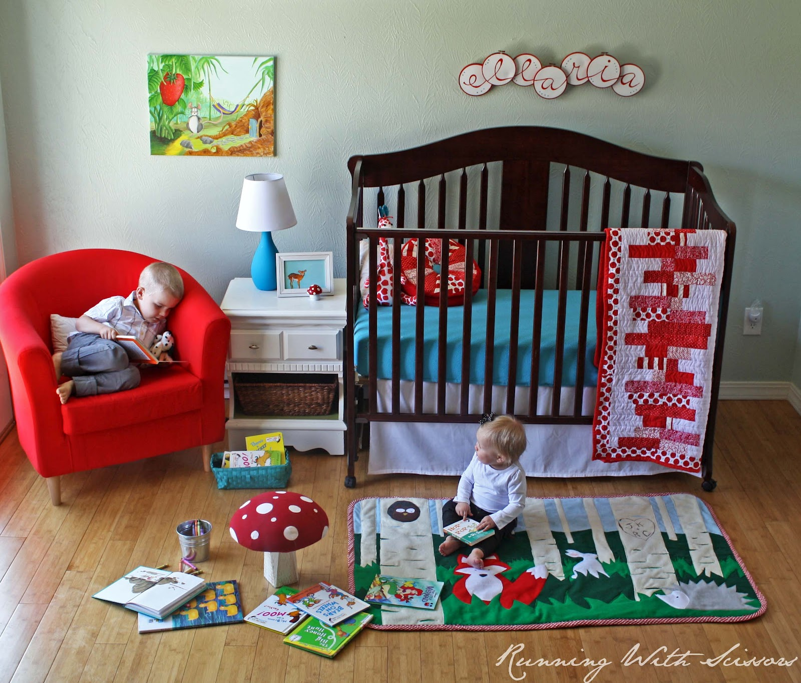 How To Make A Rug For A Child's Room. Plus A Template