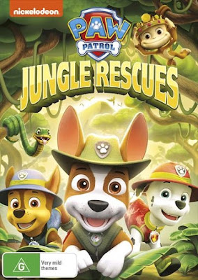 Paw Patrol Jungle Rescues 2017 DVD R1 NTSC Latino