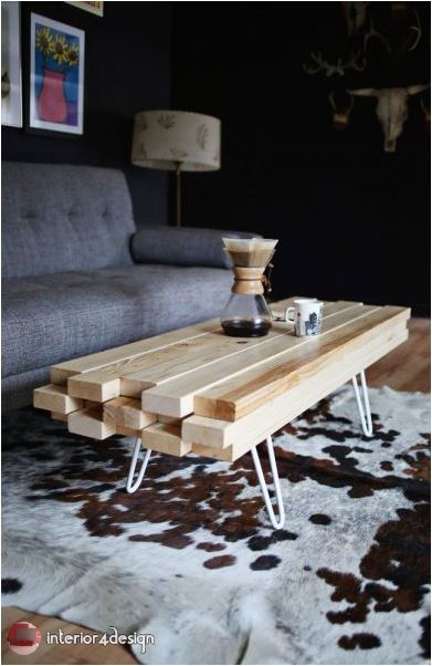 wooden tables for the living room 17