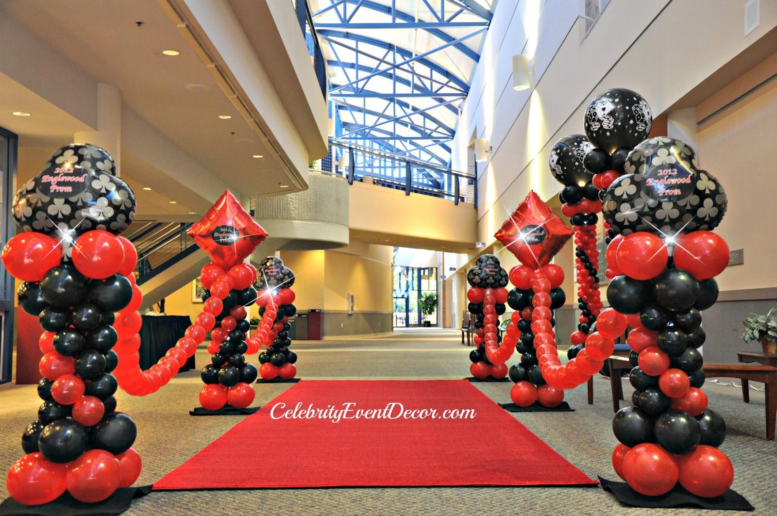 Casino Decorations Red Carpet