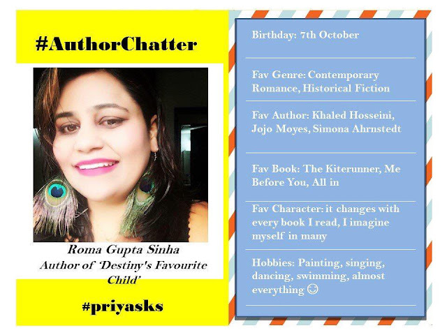 Author Roma Gupta Sinha