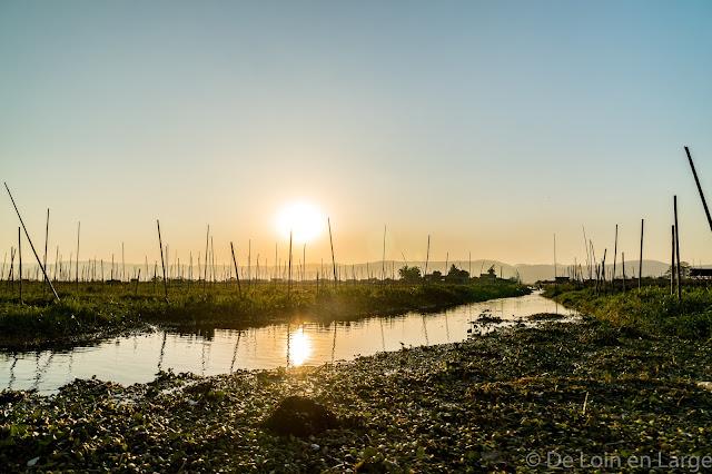 Jardins flottants de Kela - Lac Inle - Birmanie Myanmar