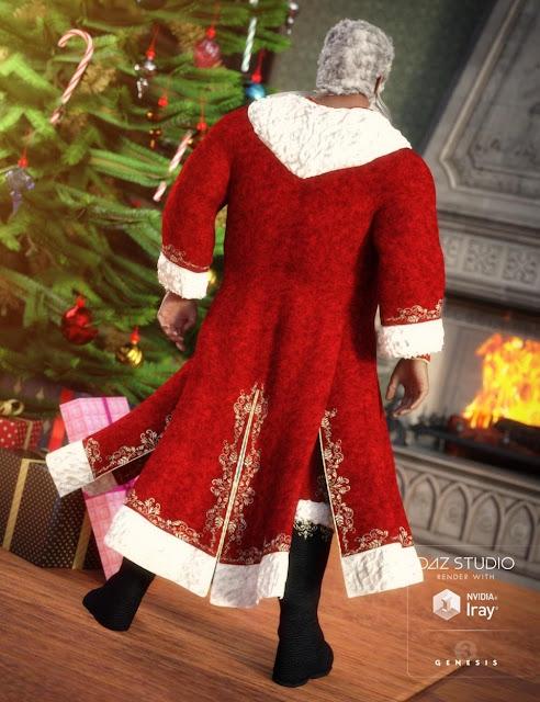 Victorian Santa for Genesis 3 Male