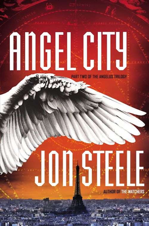 Interview with Jon Steele, author of The Watcher and Angel City - June 13, 2013