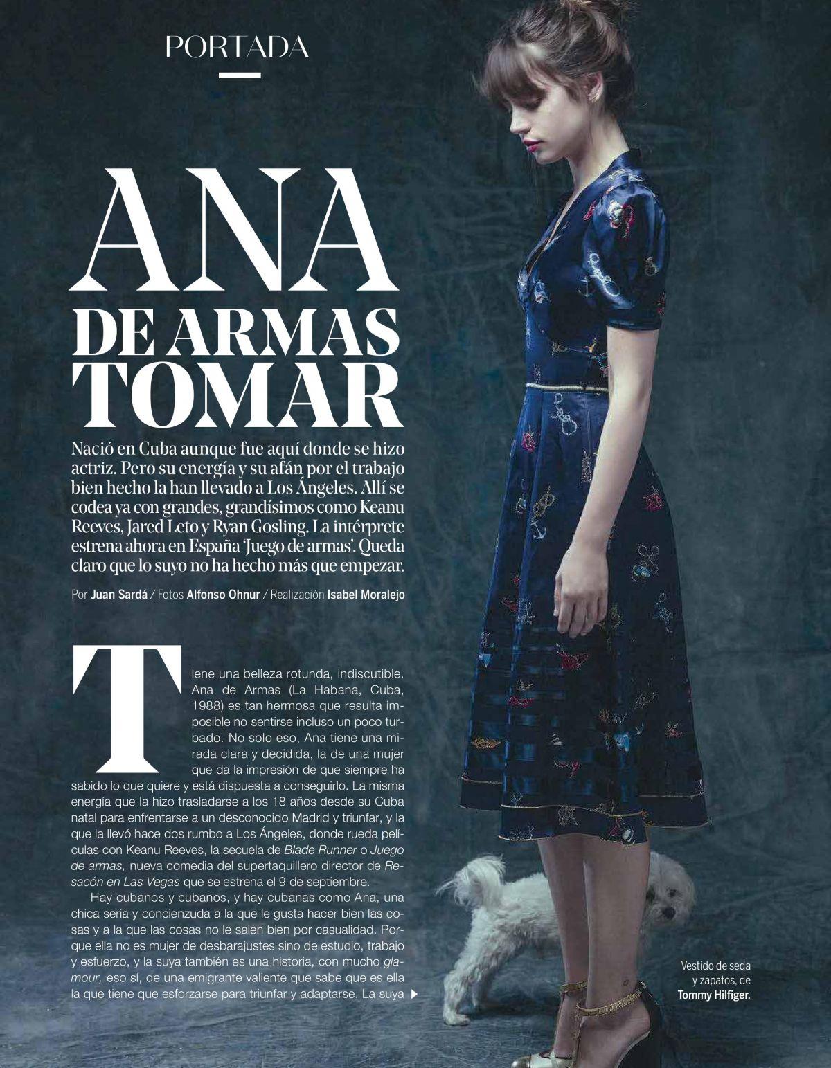 Ana De Armas PhotoShoot for Yo Dona Magazine Spain September