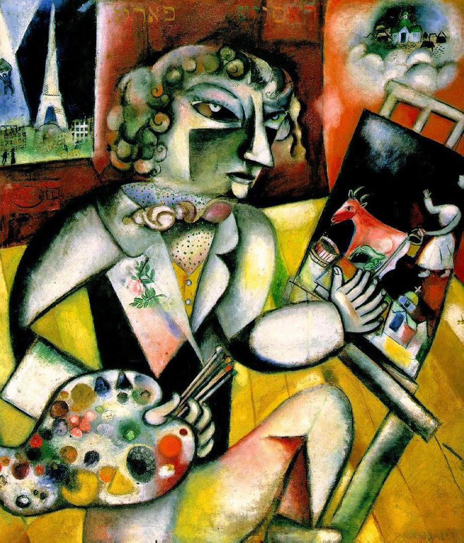 Autorretrato com Sete Dedos - O Surrealismo glorioso de Marc Chagall