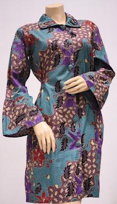 Model Baju Batik Wanita Modern Trend Terbaru Kumpulan Kata