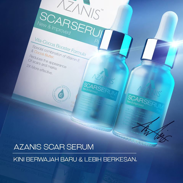 Azanis Scar Serum kini berwajah baru!