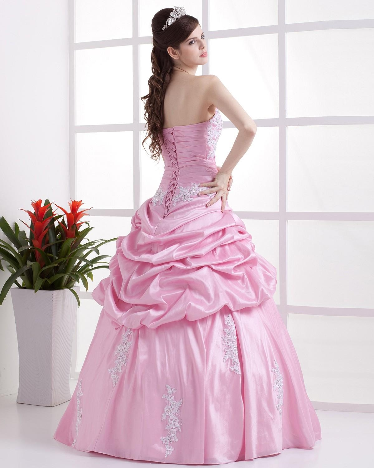 Pinky Pearl: Elegant Pink Ball Gowns - photo#26