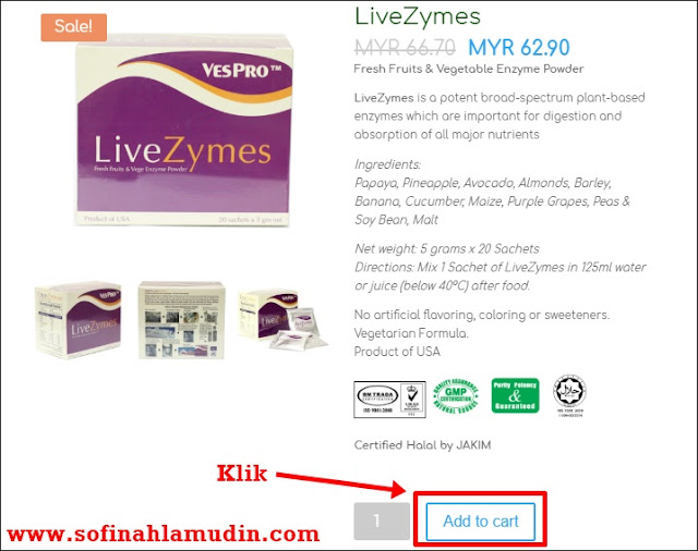 LiveZymes dari Dynamic Nutrition