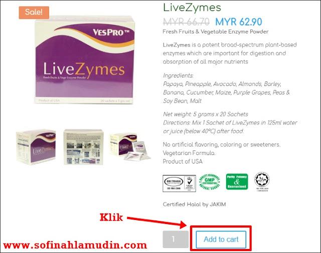 LiveZymes dari Dynamic Nutrition