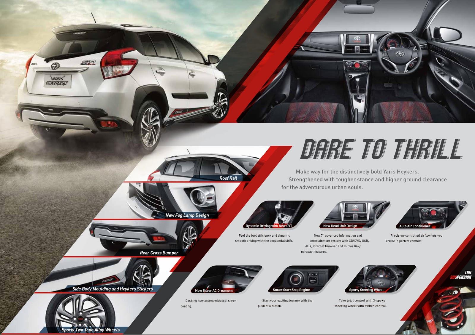 Toyota Yaris Trd Heykers The All New Corolla Altis Brosur 2017 Harga Calya Agya Avanza