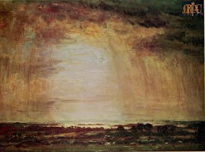 P7 Effect of Rain, Corfe by Philip Wilson Steer