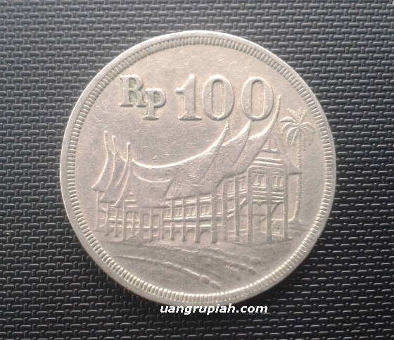 Uang Logam 100 Rupiah Tahun Emisi 1973