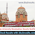 Madras University Revaluation Results 2018 - UNOM UG PG Revaluation Results Nov 2017