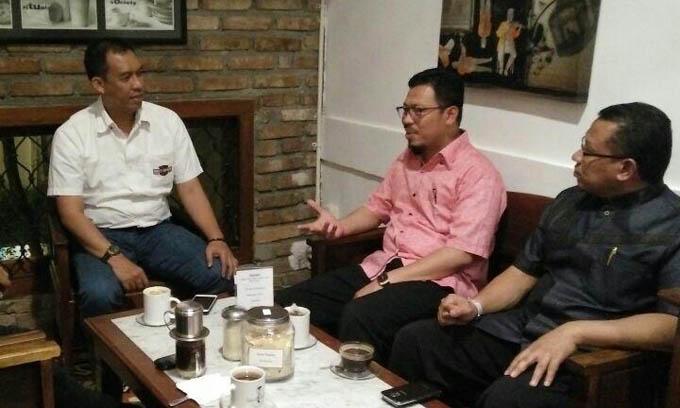 Temui H Muzayyin Arif di Tangerang AMM Bahas Pendidikan Berskala Internasional