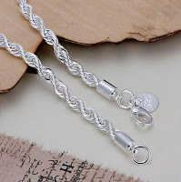 Cordon o cadena de plata