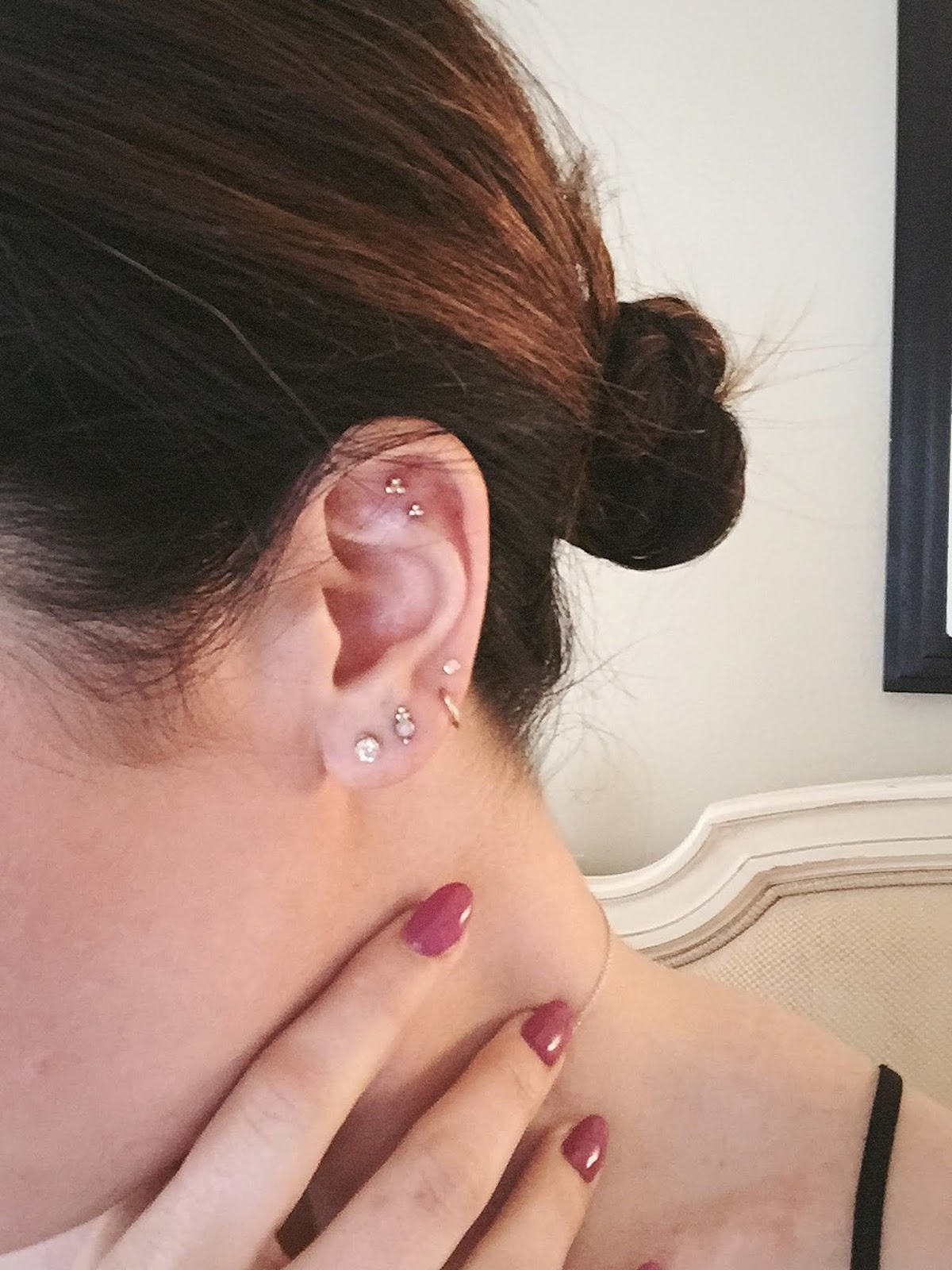 New York City travel diary Maria Tash piercings