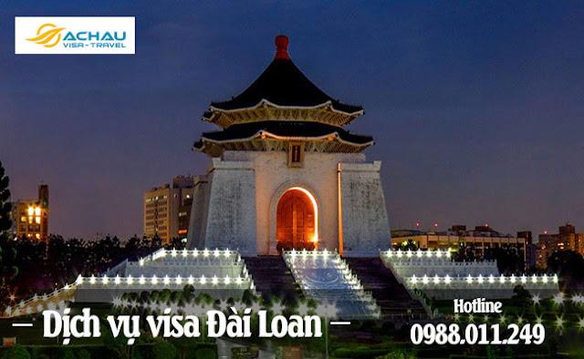 Dịch vụ visa Đài Loan giá rẻ