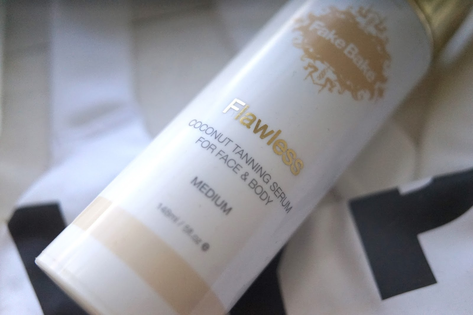 fake bake flawless tan coconut tanning serum for body and face