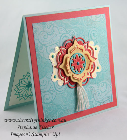 Eastern Beauty Bundle, Sneak Peek, Cupcakes & Carousels, #thecraftythinker, Stampin' Up Australia Demonstrator, Stephanie Fischer, Sydney NSW