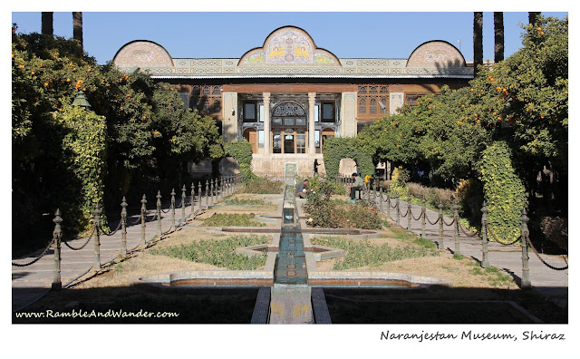 Iran: Top Things to Do and See in Shiraz - Qavam House - Ramble and Wander