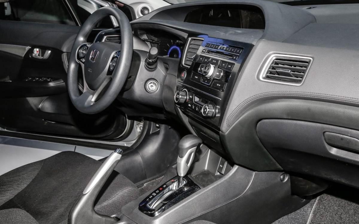 Captivating Novo Honda Civic 2013 2014 Reestilizado No Brasil   Interior