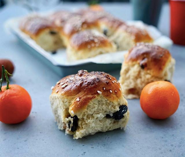 brioche du petit déjeuner, recette danoise , raisins secs , super moelleuse