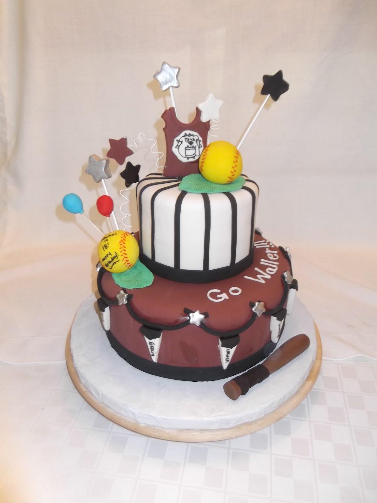 Cakes By Linsay High School Girls Softball Team Cake