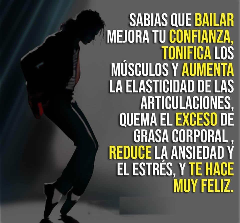 bailar mejora tu confianza