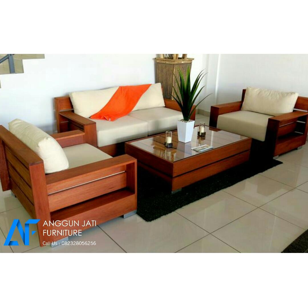 Kursi Sofa Minimalis Jati Mewah Set Kursi Tamu Minimalis Mebel