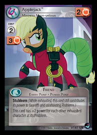 My Little Pony Applejack, Mistress Mare-velous High Magic CCG Card