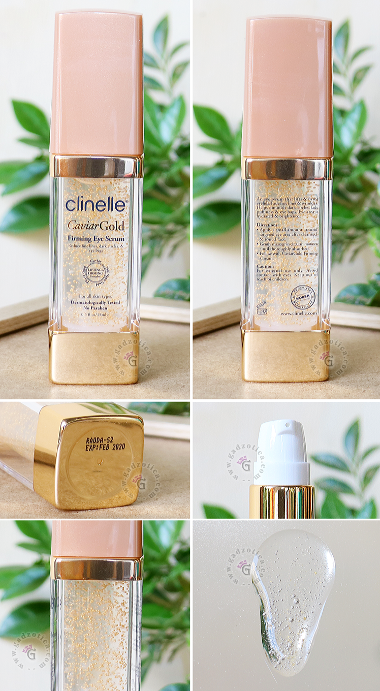 Review Clinelle Caviar Gold Firming Eye Serum