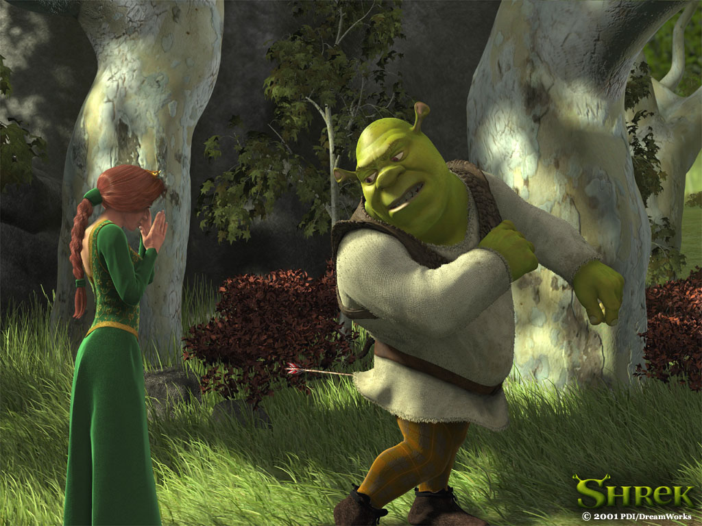 Liana Conis Blog Shrek Background